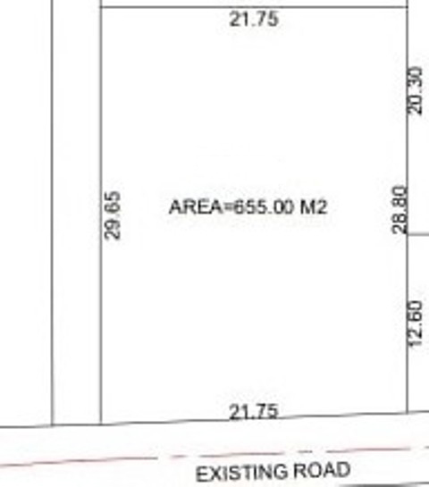 655sqmt Plot Settlement for Sale in Guirim-Mapusa, North-Goa.(1.31Cr)
