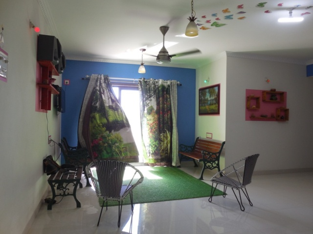 2 Bhk 115sqmt flat fully furnished for Rent in Porvorim, North-Goa.(30k)