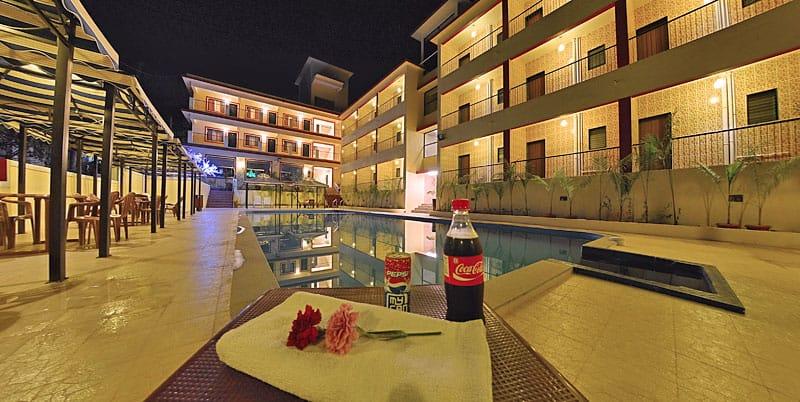 31 Rooms Hotel for Sale in Guirim-Mapusa, North-Goa.(40Cr)