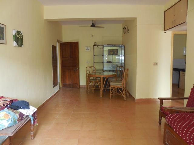 1Bhk 62sqmt flat Semi-furnished for Sale in Calangute, North-Goa.(36.50L)
