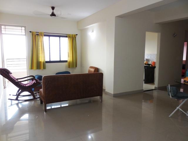 2Bhk 105sqmt flat unfurnished for Sale in Mapusa, North-Goa. (50L)