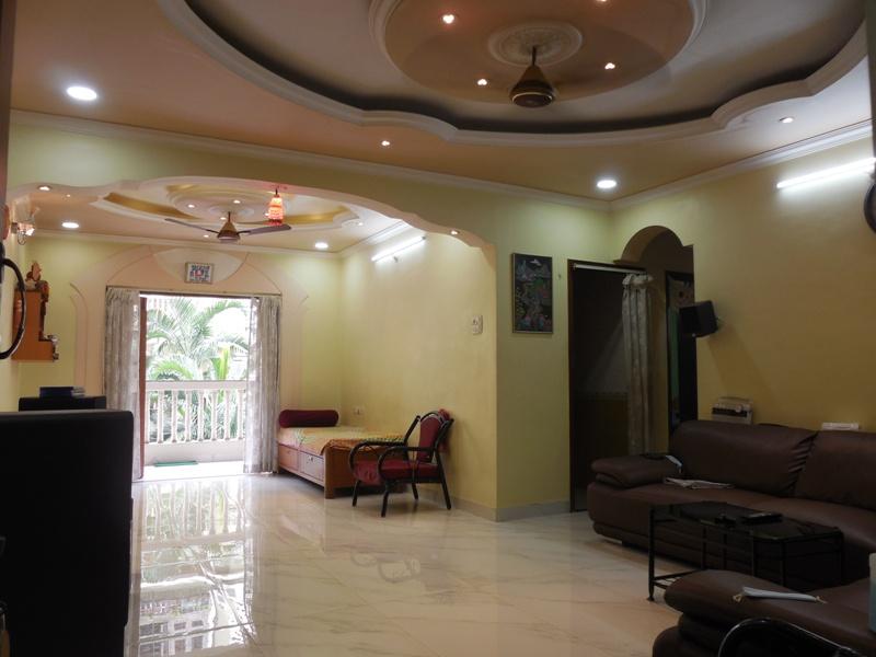 2 Bhk 126sqmt flat Semi-furnished for Sale in Caranzalem, North-Goa.(1.15Cr)