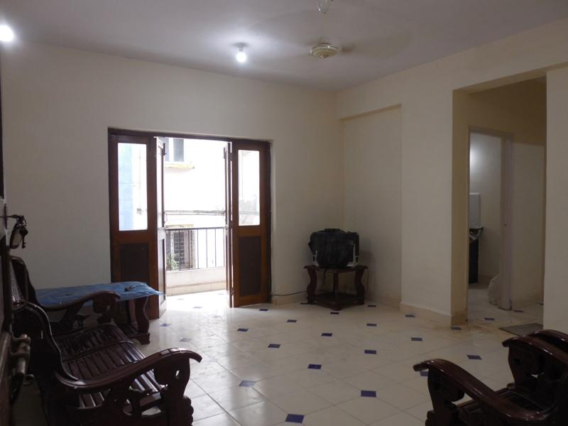 1 Bhk 60sqmt flat for Rent in Duler-Mapusa, North-Goa.(11k)