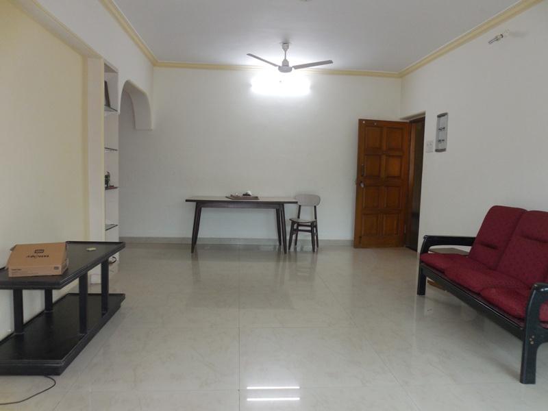2 Bhk 117sqmt flat Semi-furnished for Rent in Caranzalem, North-Goa.(30K)