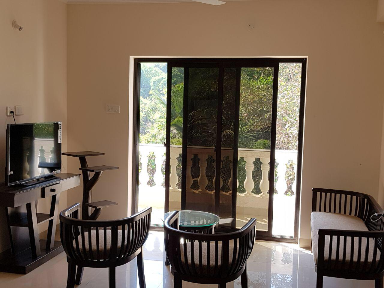 2 Bhk 95sqmt Furnished flat for Rent in Siolim, North-Goa (30k)