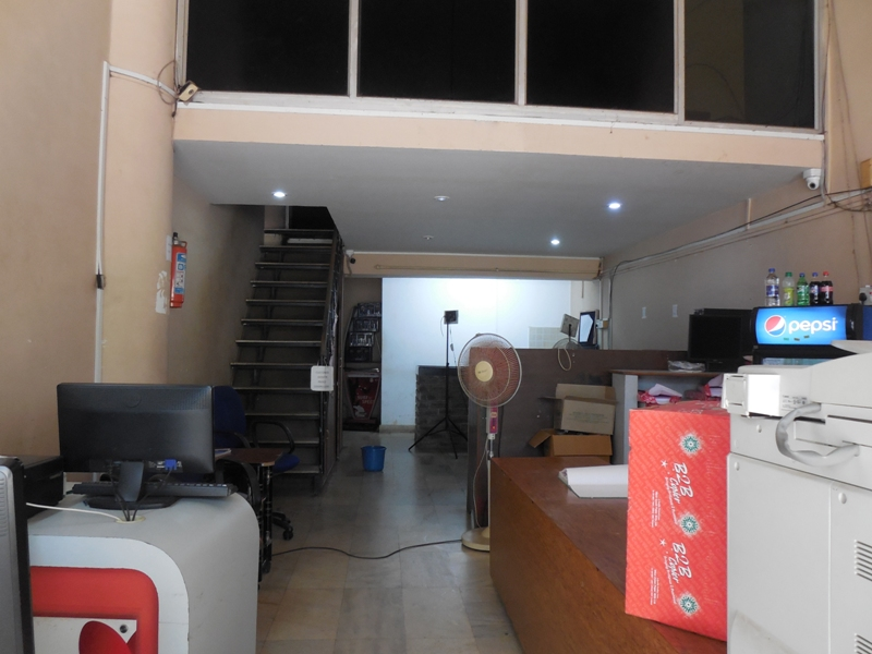 66sqmt Shop Double height for Rent in Panjim, North-Goa.(50k)