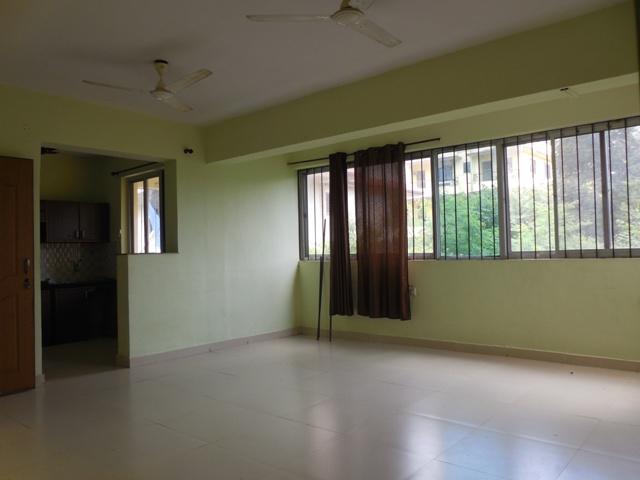 1 Bhk 74sqmt flat unfurnished for Sale in Porvorim, North-Goa.(45L)