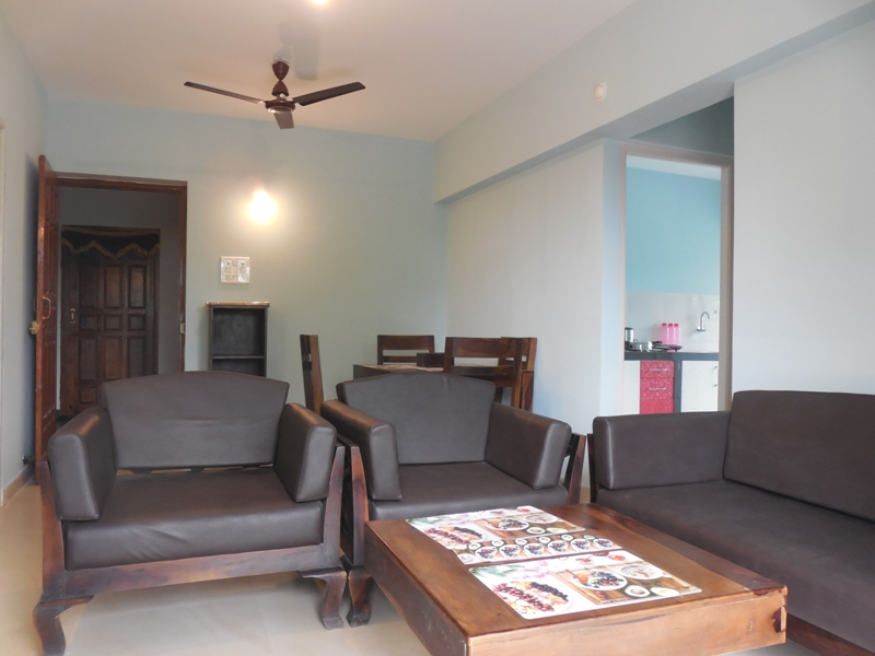 1 Bhk 64sqmt brand new flat for Sale in Chikhli, Mapusa, North-Goa.(38L)