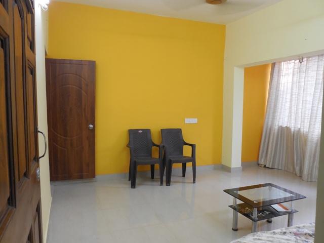 2 Bhk 69sqmt flat Semi-furnished for Rent in Duler-Mapusa. (16k)