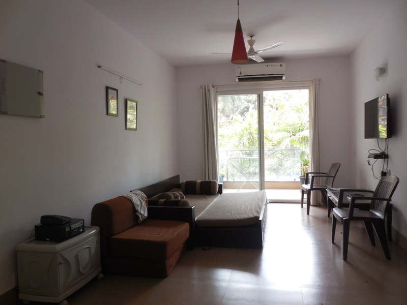 1 Bhk 76sqmt flat for Sale in Arpora, North-Goa.(65L)