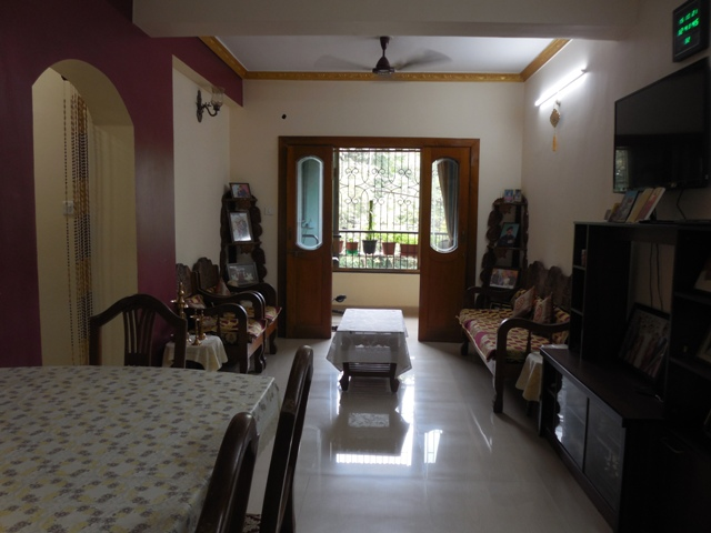 2 Bhk 95sqmt flat furnished for Sale in Old-Goa, North-Goa.(60L)