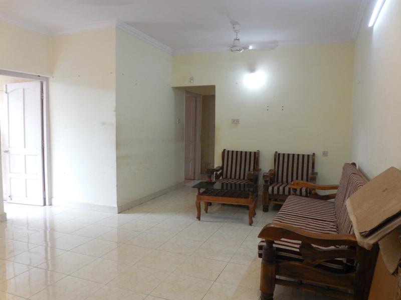 2 Bhk 104sqmt flat Unfurnished for Rent in Mapusa, North-Goa.(17k)