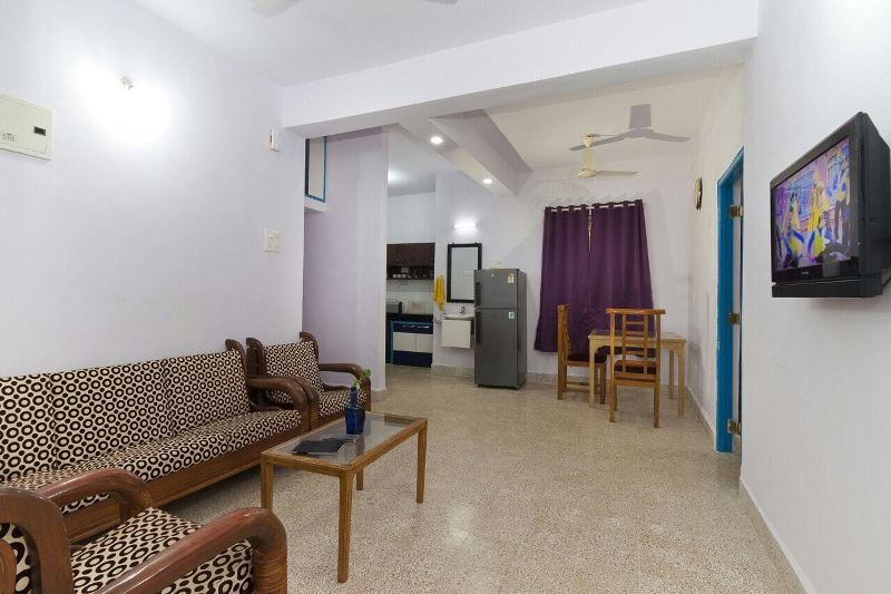 2 Bhk Flat 100sqmt furnished for Rent in Calangute, North-Goa.(35k)