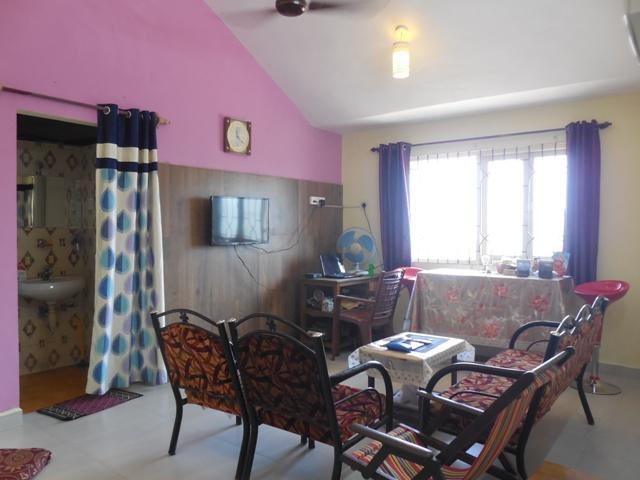 2 Bhk 80sqmt flat furnished for Rent in Porvorim, North-Goa (19k)