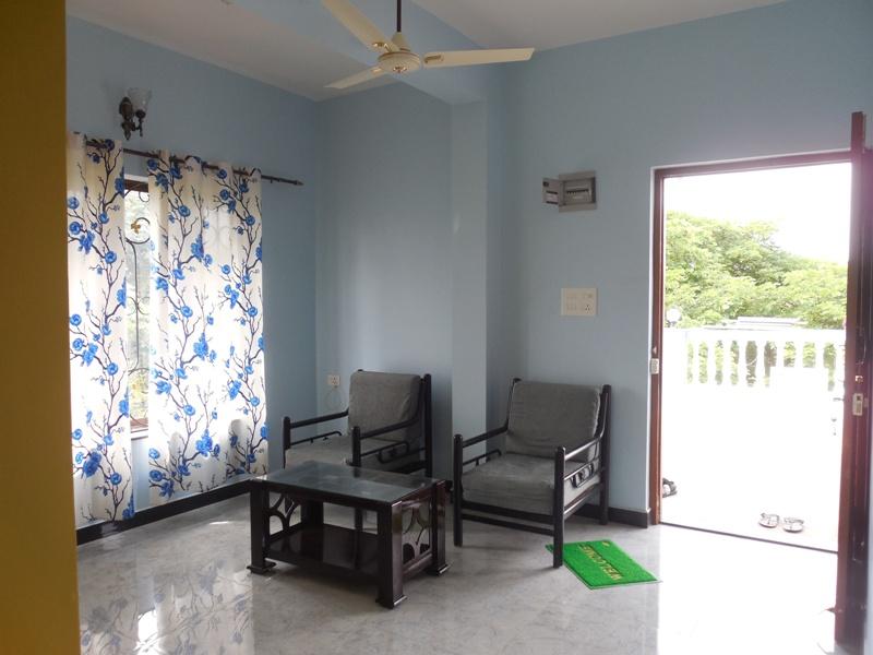 1 Bhk 70sqmt flat Semi-furnished for Rent in Porvorim, North-Goa.(15k)
