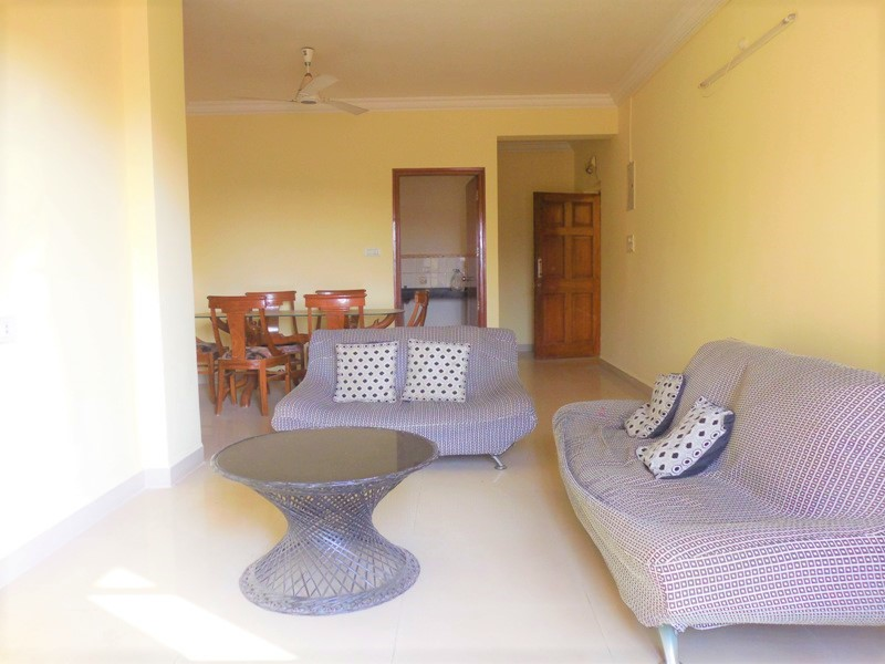 2 Bhk 103sqmt flat furnished for Sale in Porvorim, North-Goa.(75L)