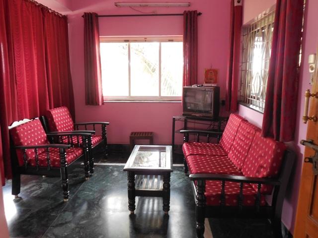 1 Bhk 65sqmt flat furnished for Rent in Porvorim, North-Goa.(14k)