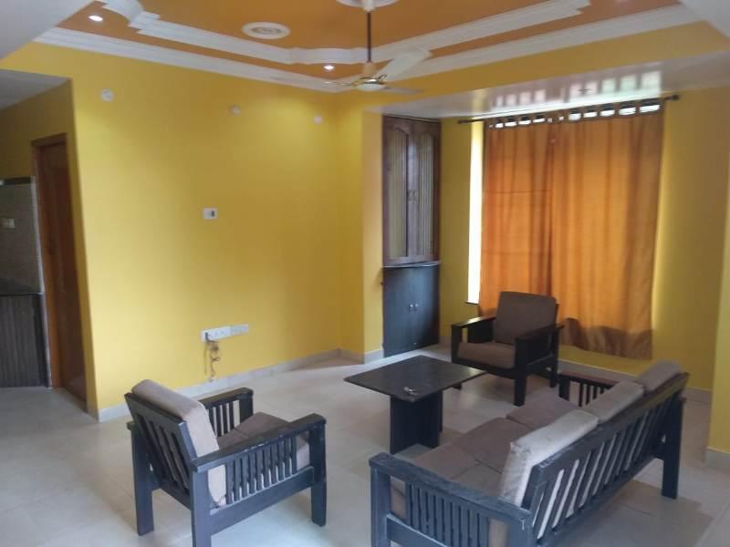 2 Bhk 105sqmt flat Semi-furnished for Sale in Porvorim, North-Goa.(59L)