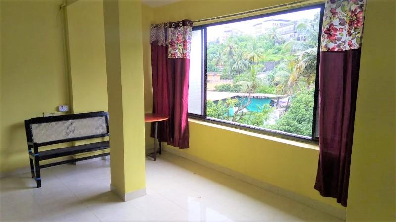 Studio flat 30sqmt for Rent in Caranzalem, North-Goa.(11k)