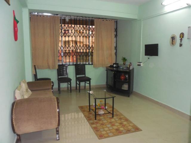 2 Bhk 88sqmt flat furnished for Rent in Porvorim, North-Goa.(17k)