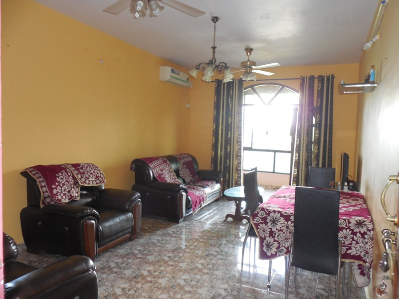 2Bhk 123sqmt flat with terrace for Sale in Porvorim, North-Goa.(65L)