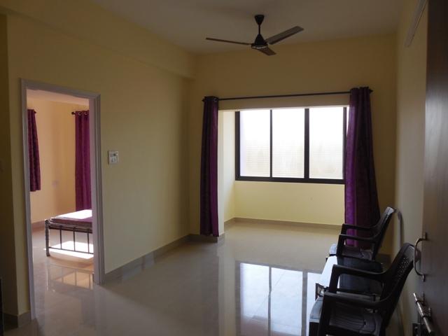 1Bhk 44sqmt flat for Rent in Kadamba plateau, Old-Goa, North-Goa.(10k)