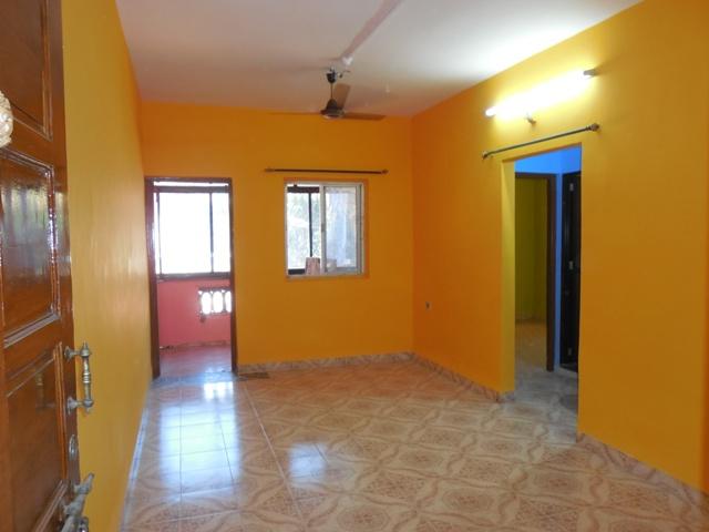 1 Bhk 60sqmt flat for Rent in St.cruz, North-Goa.(10K)
