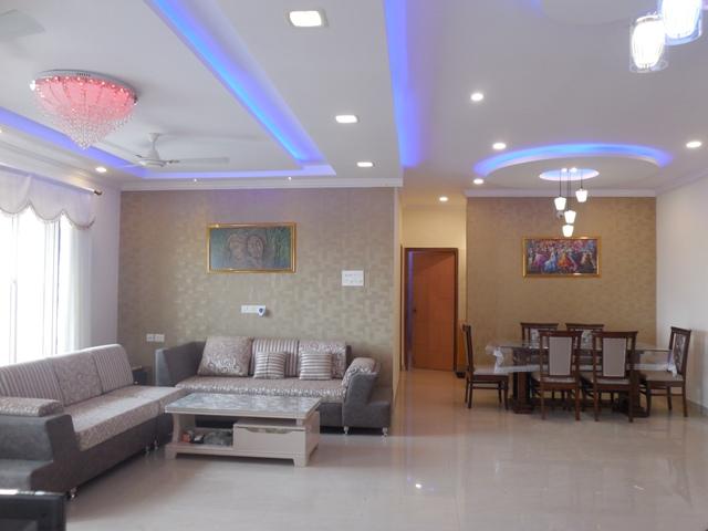 3 Bhk luxury furnished Penthouse for Rent at Porvorim, North-Goa. (55k)