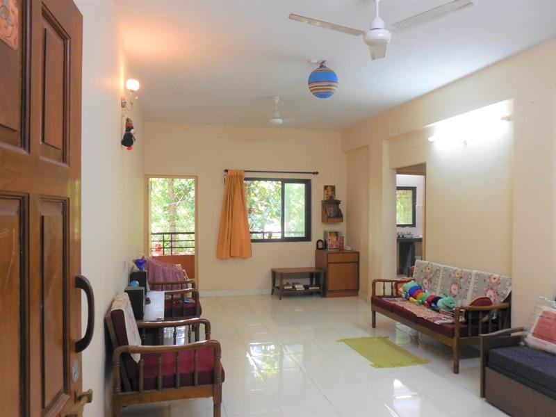1 Bhk 66sqmt flat furnished for Sale in Porvorim, North-Goa.(30L)