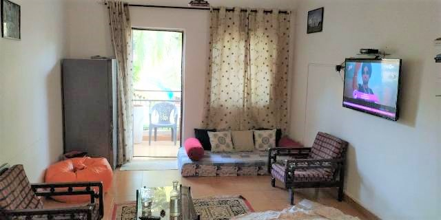 1 Bhk 61sqmt flat for Sale in Calangute, North-Goa.(40L)