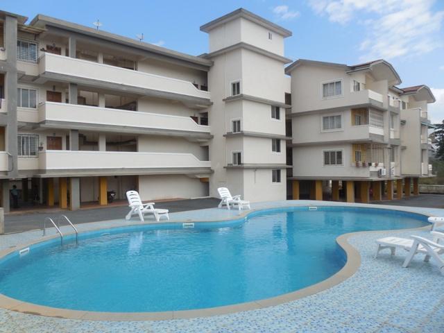 2 Bhk 101sqmt flat Semi-furnished for Rent in Porvorim, North-Goa.(17k)