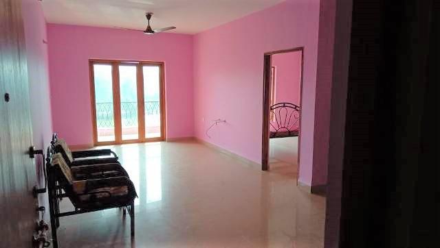 1 Bhk 59sqmt flat Semi-furnished for Rent in Goa-Velha, North-Goa.(12k)