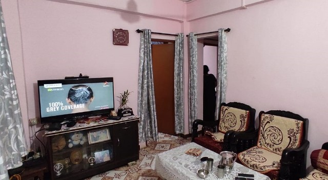 2Bhk 70sqmt flat for Sale in Merces, North-Goa. (35L)