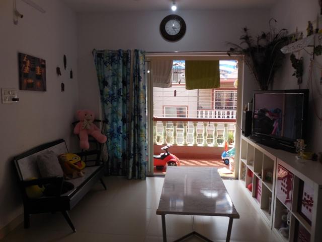 2 Bhk 90sqmt flat for Sale in Cunchelim-Mapusa, North-Goa.(50L)