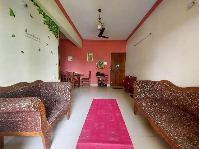 2 Bhk 80sqmt flat Semi-furnished for Sale in St.Cruz, North-Goa.(44L)