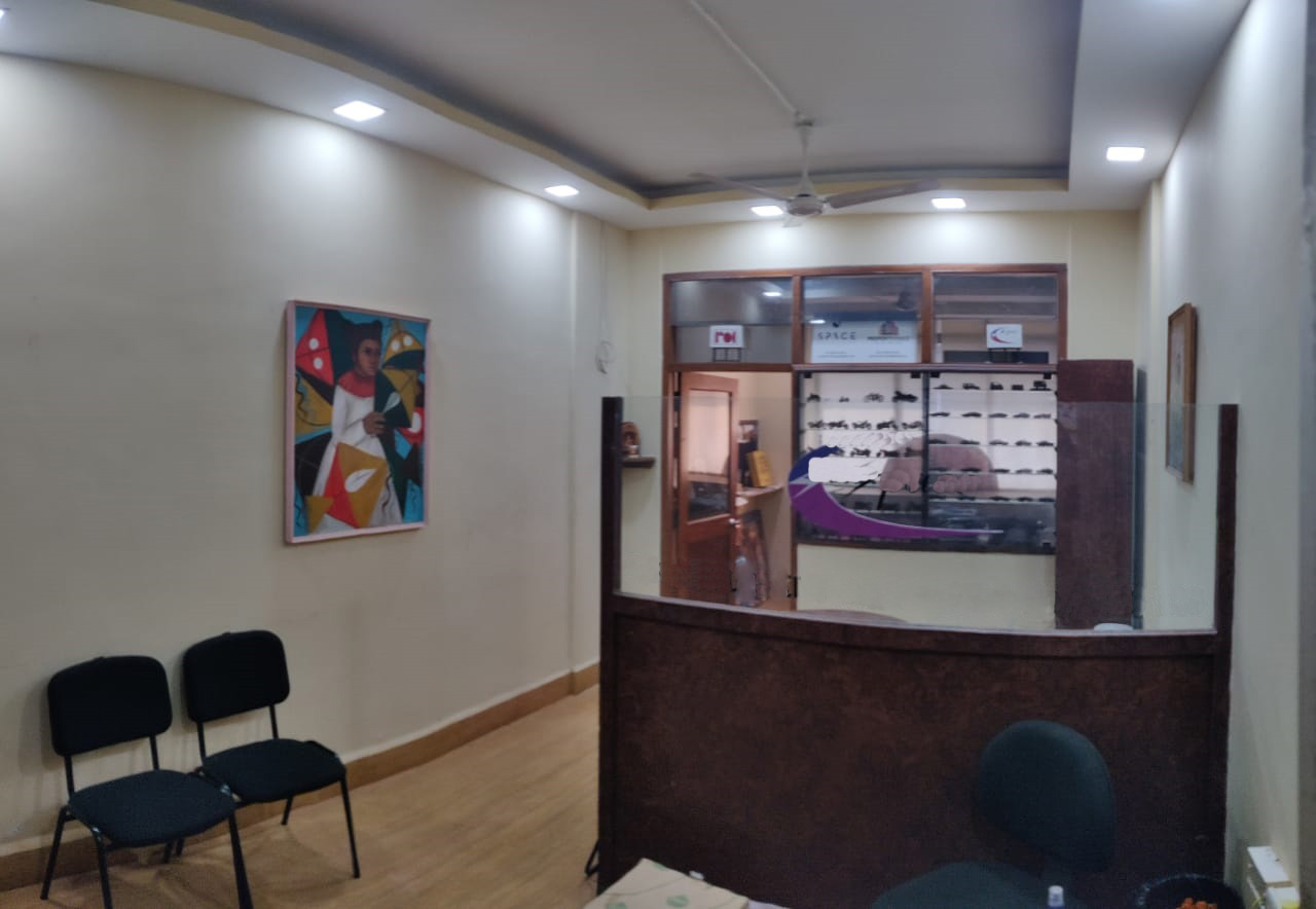 37sqmt Office Fully furnished for Rent in Panjim, North-Goa. (25k)