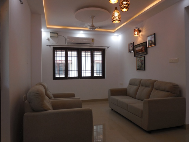 2 Bhk 114sqmt flat Semi-furnished for Rent in Porvorim, North-Goa.(25K)