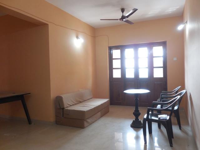 2Bhk 91sqmt flat Unfurnished for Sale in Mapusa, North-Goa. (55L)