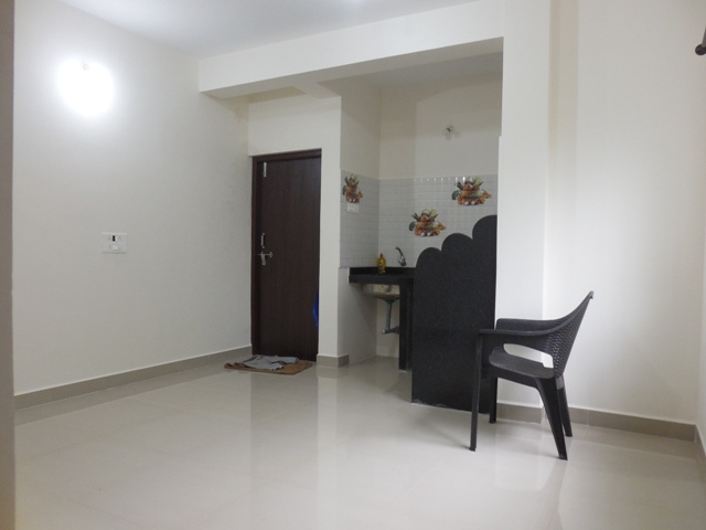 1 Bhk 55sqmt flat for Rent in Sangolda, North-Goa.(15k)