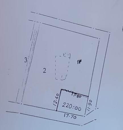 220sqmt Plot Settlement for Sale in Guirim-Mapusa, North-Goa.(44L)
