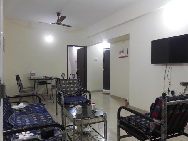 2 Bhk 102sqmt flat furnished for Rent in Porvorim, North-Goa. (22k)