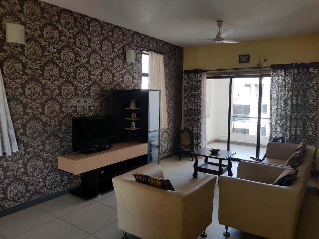3 Bhk 157sqmt flat furnished for Rent in Ribandar, North-Goa.(30k)