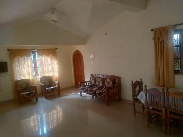 2 Bhk 100sqmt flat Furnished for Rent in St.Cruz, North-Goa. (16k)