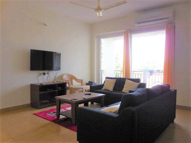 2 Bhk 122sqmt flat furnished for Rent in Siolim, North-Goa.(50k)
