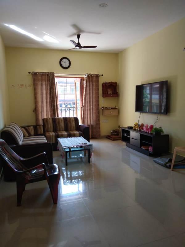 2 Bhk 104sqmt flat furnished for Sale in Duler-Mapusa, North-Goa. (68L)
