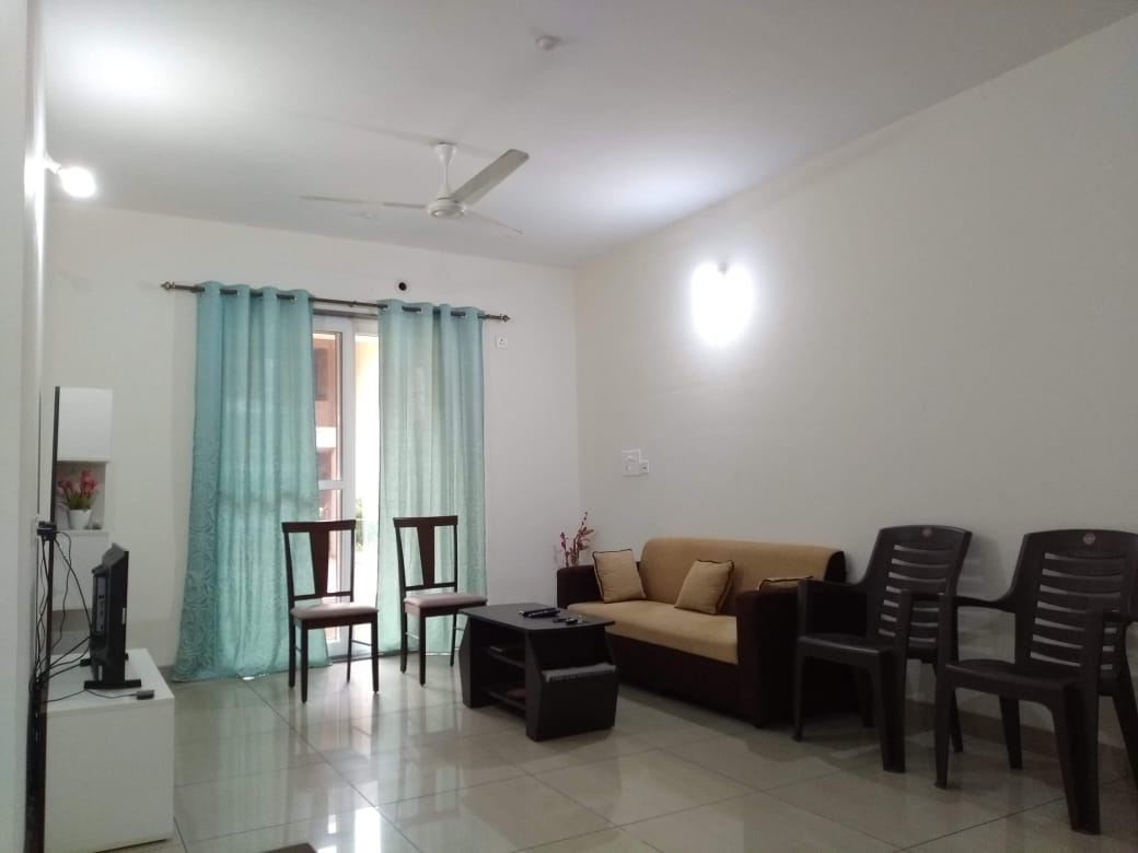2 Bhk 100sqmt flat furnished for Rent in Kadamba plateau, Old-Goa. North-Goa (28k)