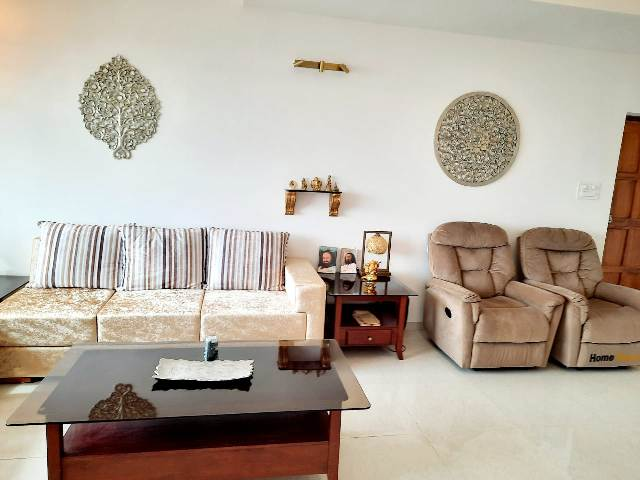 2 Bhk 111sqmt flat Riverview for Sale in Ribandar, North-Goa.(95L)