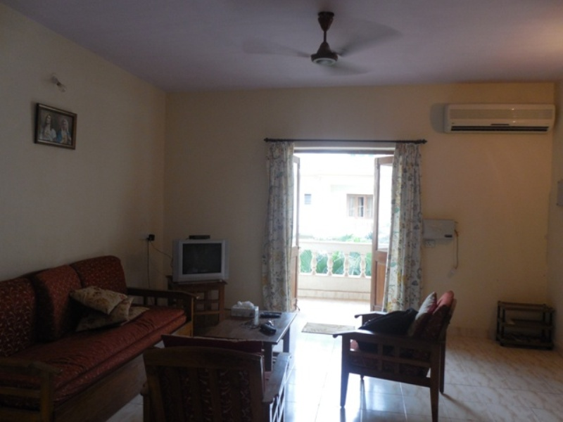 2 Bhk 90sqmt flat furnished for Rent in Calangute, North-Goa.(22k)