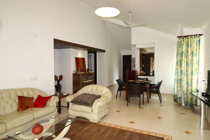 2 Bhk 154sqmt flat Semi-furnished for Sale in Reis-Magos, North-Goa.(1.30Cr)