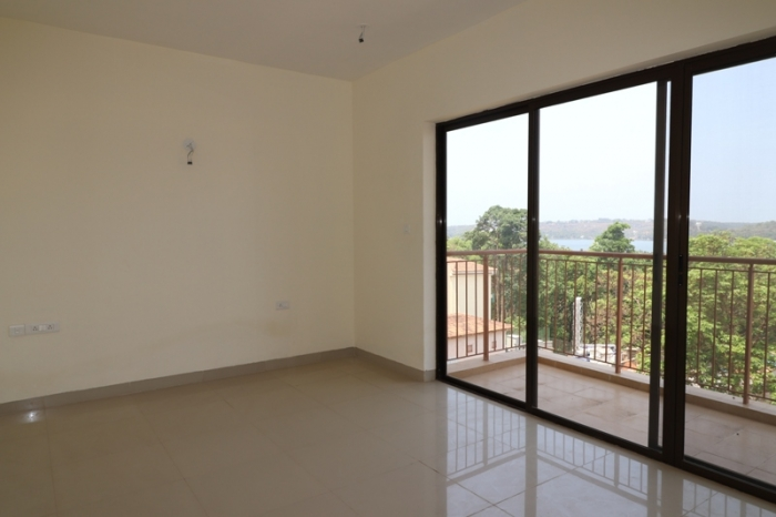 3Bhk 292sqmt Riverview flat brand new for Sale in Betim, North-Goa.(2.20Cr)